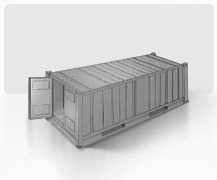 Standard 20' container