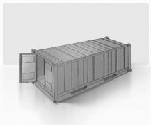 Standard 40' container