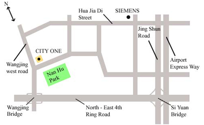 The location of XLHJ Group Limited in Beijing