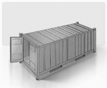 Sea freight containers characteristics